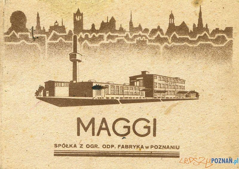 Maggi  Foto: Muzeum Narodowe w Poznaniu, wystawa Miejska ikonosfera na drukach reklamowych z widokami Poznania 18