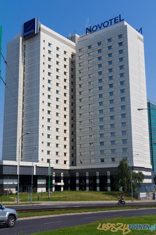 Hotel Novotel, dawniej Hotel Poznań  Foto: lepszyPOZNAN.pl / Piotr Rychter