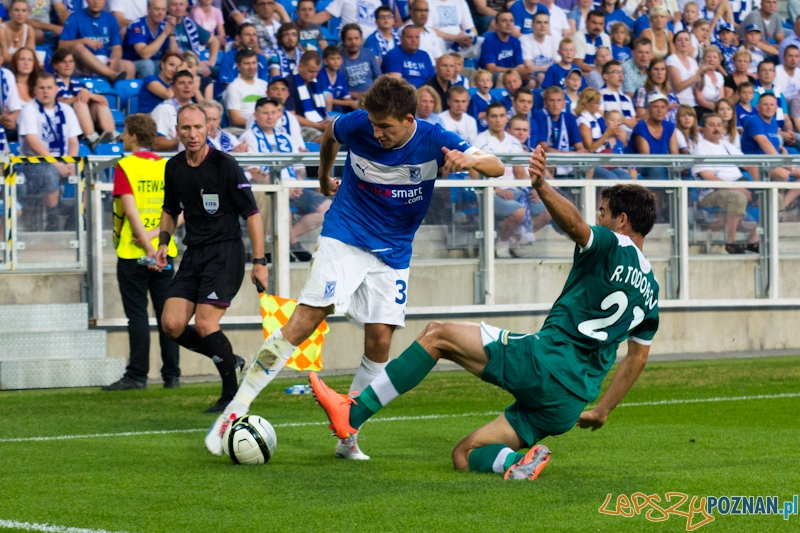 Druga runda eliminacji Ligii Europejskiej mecz Lech Poznań – Chazar Lenkoran  Foto: lepszyPOZNAN.pl / Piotr Rychter