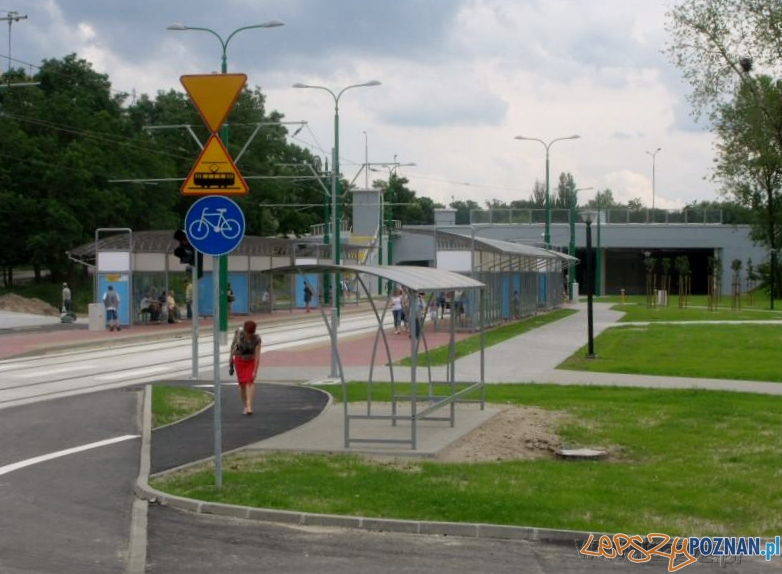 Nowa trasa tramwajowa na Franowo  Foto: lazarz.pl