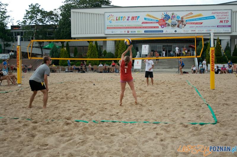 Turniej Siatkówki Plażowej na MTP  Foto: Ewelina Gutowska