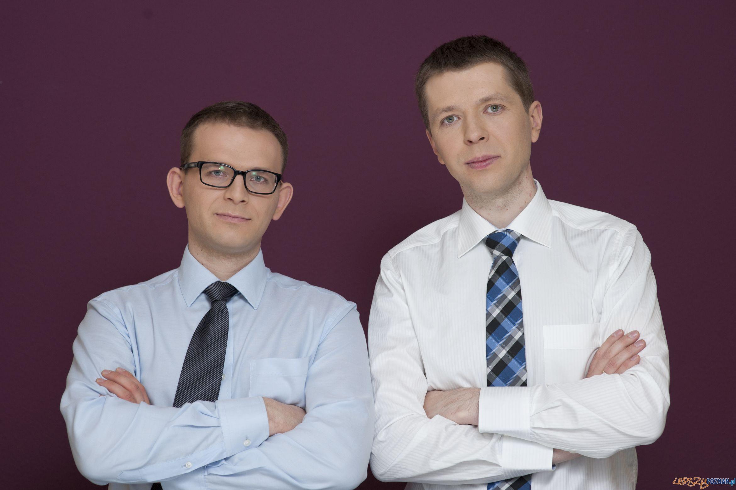 Michał Czekalski i Łukasz Olek - właściciele InternetowyKantor.pl  Foto: