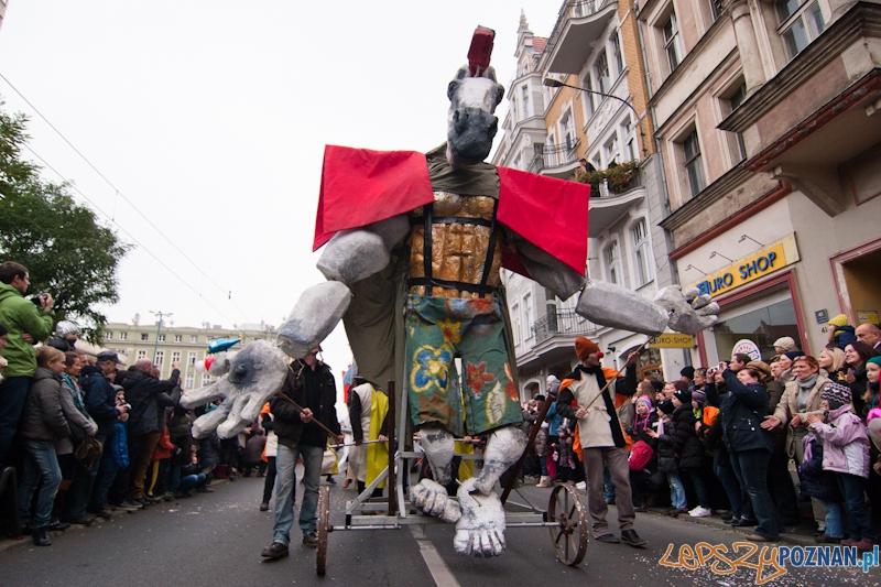 Obchody dnia ulicy Święty Marcin - Poznań 11.11.2012 r.  Foto: LepszyPOZNAN.pl / Paweł Rychter