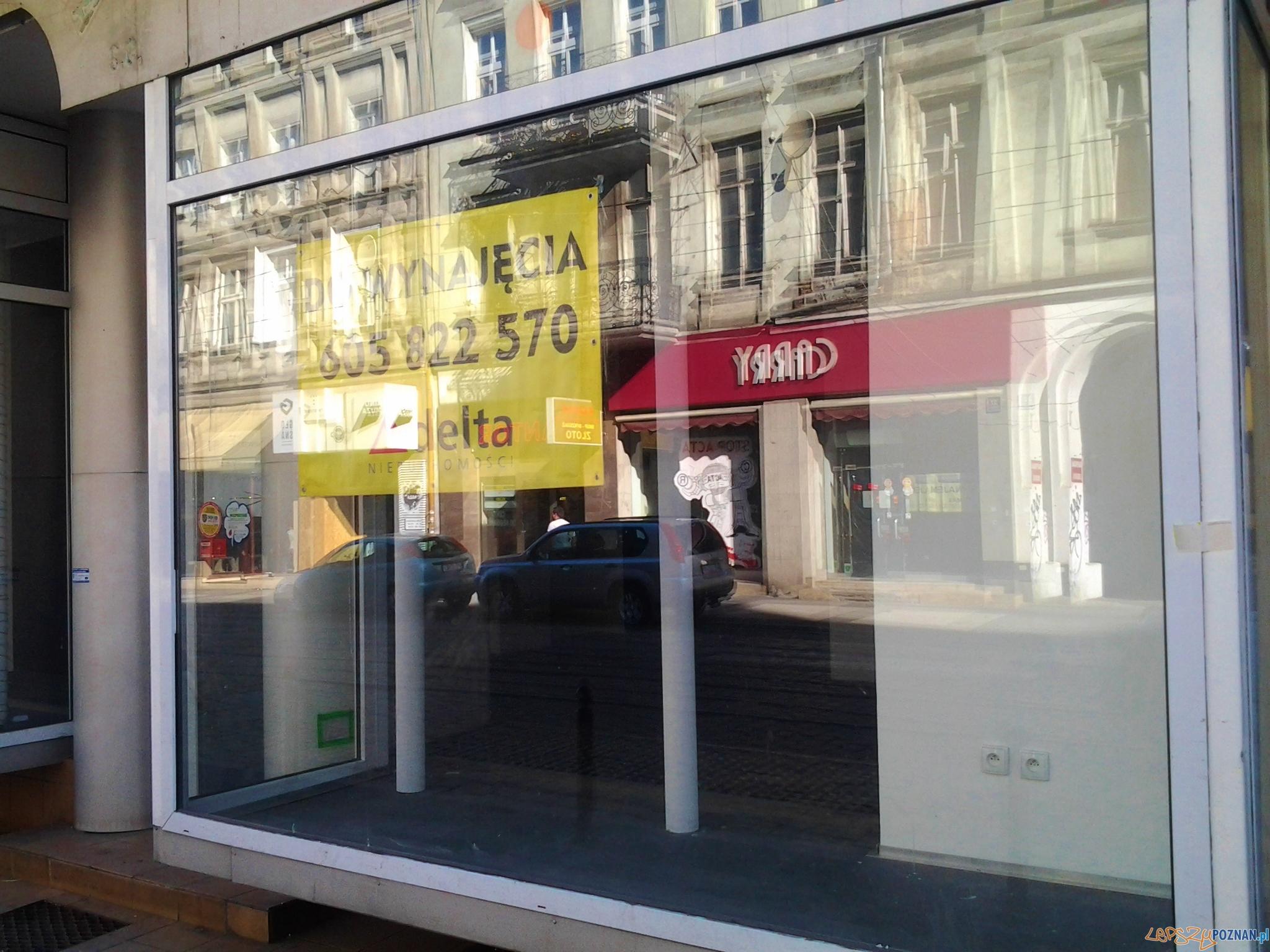 Zamknięte sklepy na Świętym Marcinie  Foto: lepszyPOZNAN.pl / tab
