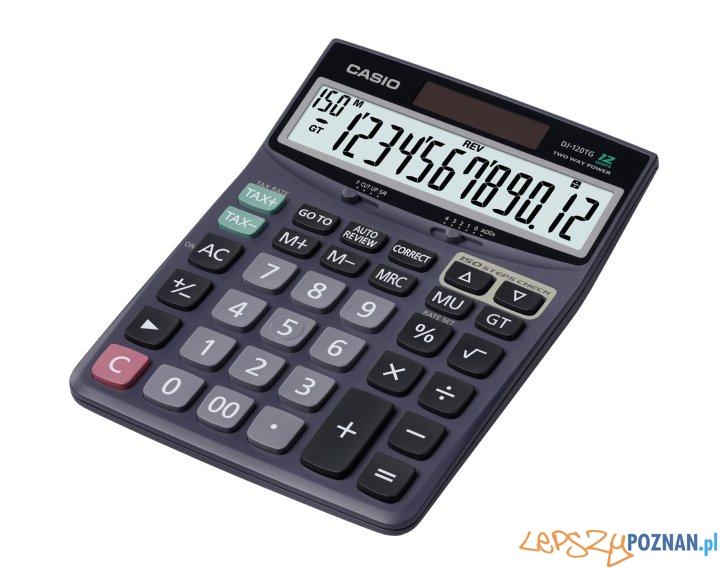 Kalkulator casio  Foto: materiały prasowe