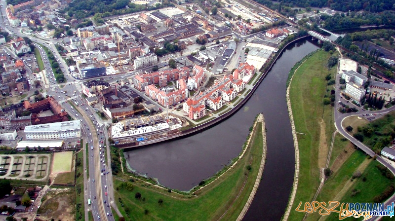 Dawny port rzeczny w Poznaniu  Foto: lepszyPOZNAN.pl / ag