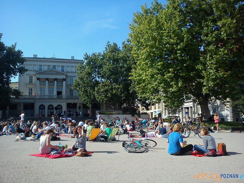 Piknik na Placu Wolności - wrzesień 2011  Foto: lepszyPOZNAN.pl / Karolina Górska