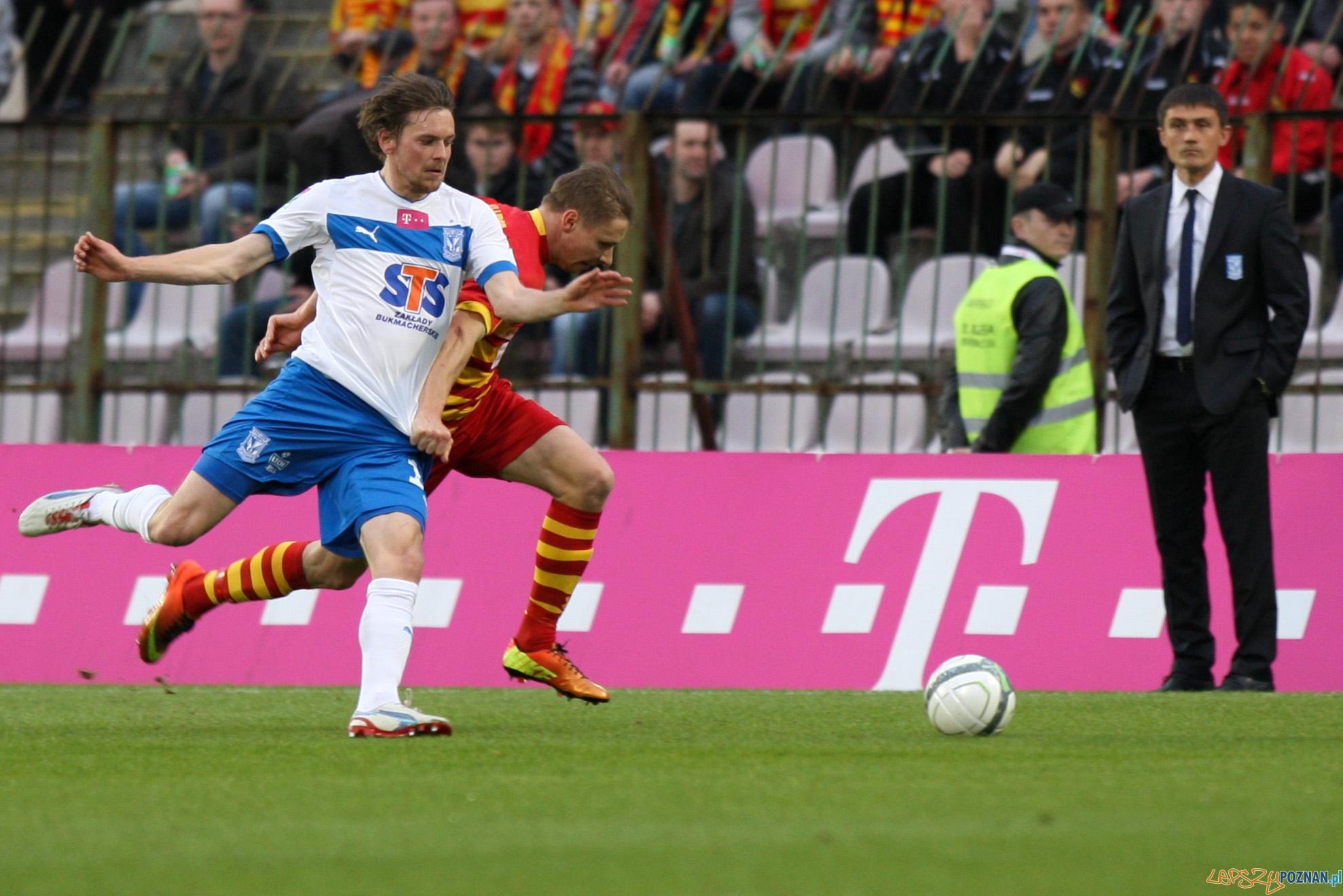 Lech wygrywa z Jagiellonią Białystok 0:1 -   Foto: x-news