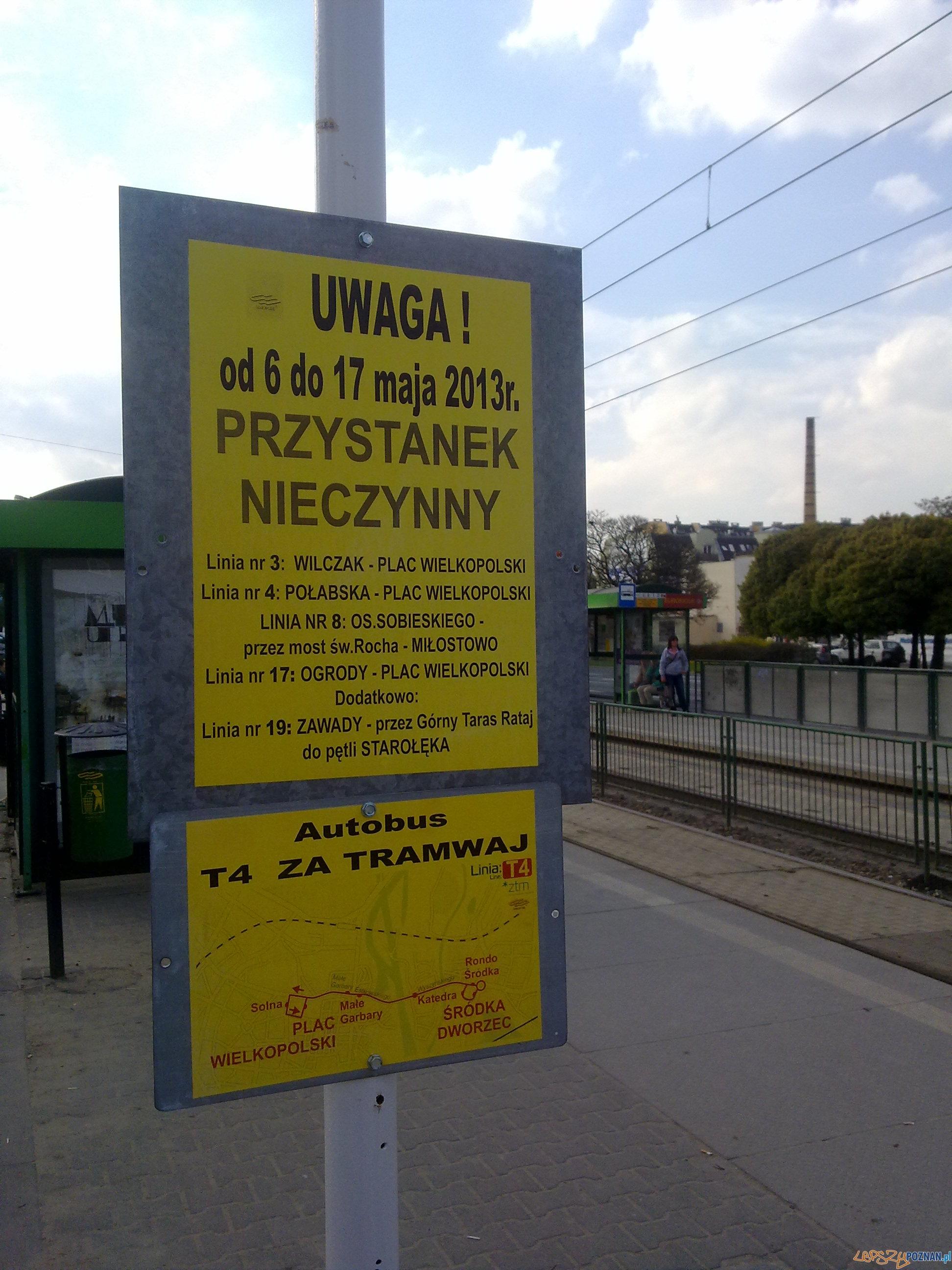 Nieczynny przystanek na Garbarach  Foto: lepszyPOZNAN.pl / TD