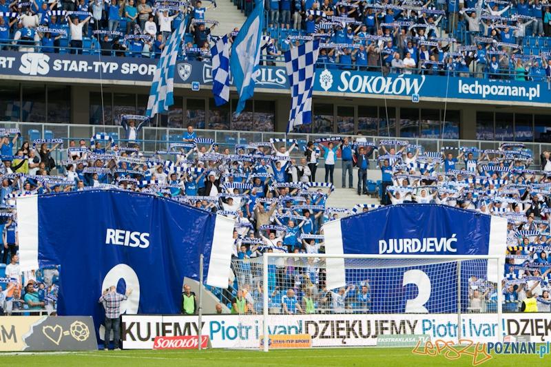 Ostatni mecz Piotra Reissa, Ivana Djurdjevicia i Alexandra Toneva w barwach Lecha Poznań  Foto: lepszyPOZNAN.pl / Piotr Rychter