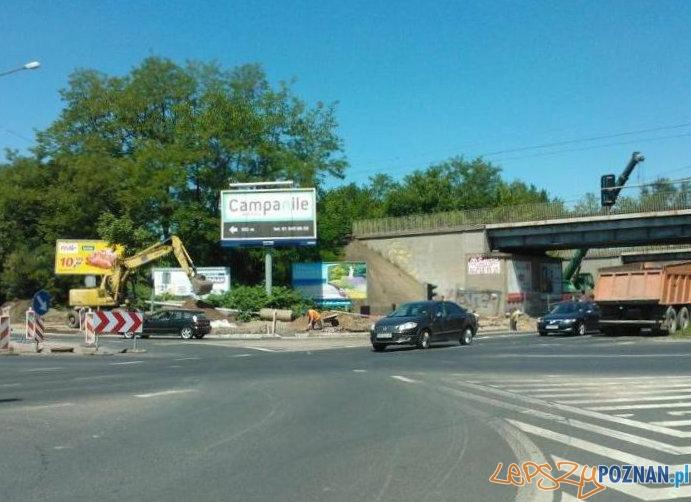 Przebudowa skrzyżowania na Niestachowskiej  Foto: ZDM Poznań