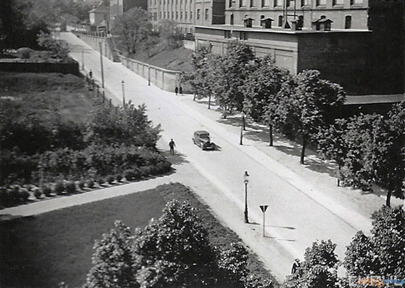 ul. Krakowska (w czasie wojny Grolmanwall) - lata 1940-1943  Foto: CYRYL