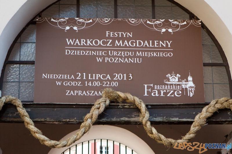 Festyn Warkocz Magdaleny - dziedziniec Urzędu Miasta 21.07.2013 r.  Foto: lepszyPOZNAN.pl / Piotr Rychter