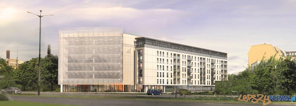 Wizualizacja budynku przy ul. Bóżnicza  Foto: materiały prasowe