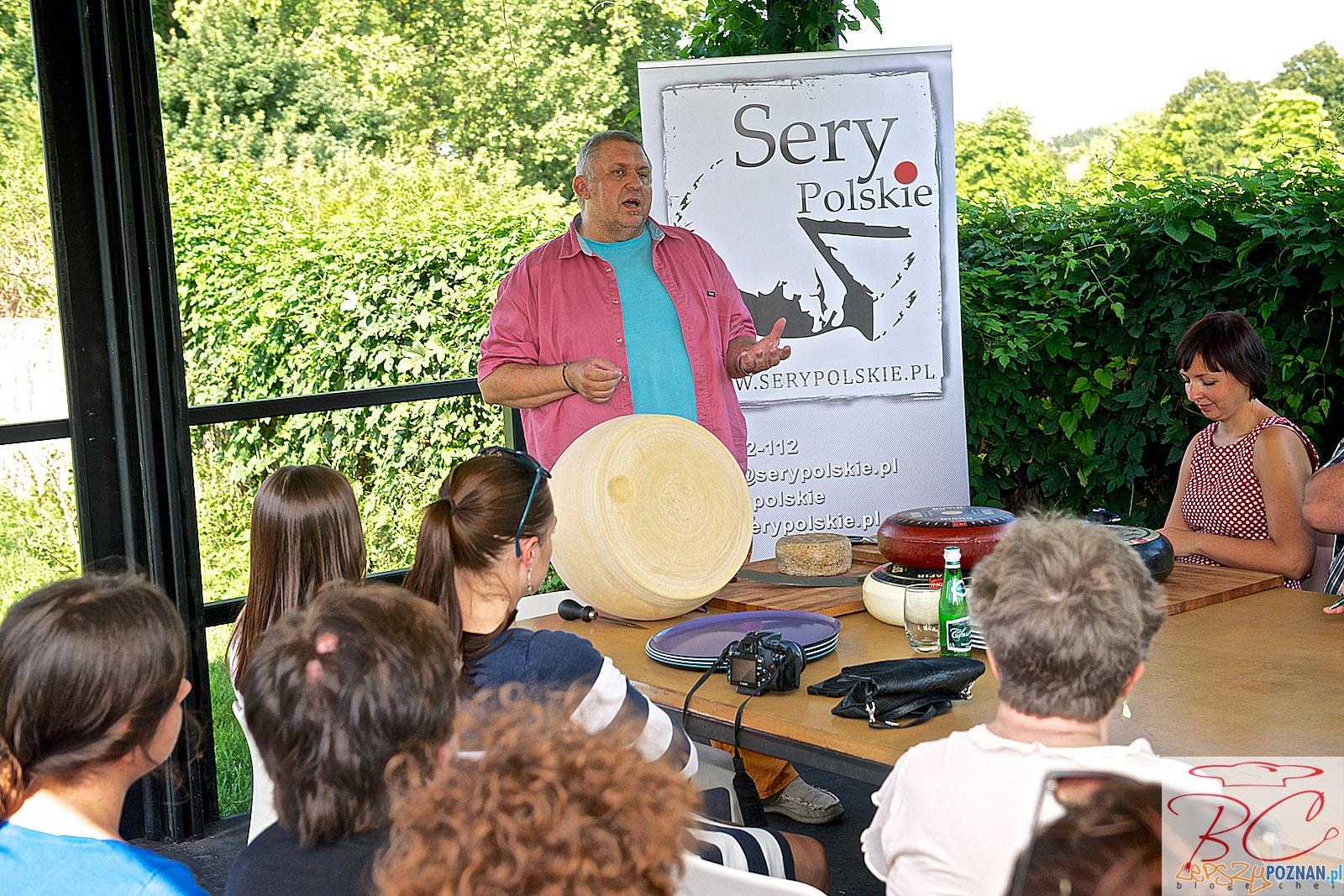 Gieno opowiada o serach  Foto: blogerchef.pl