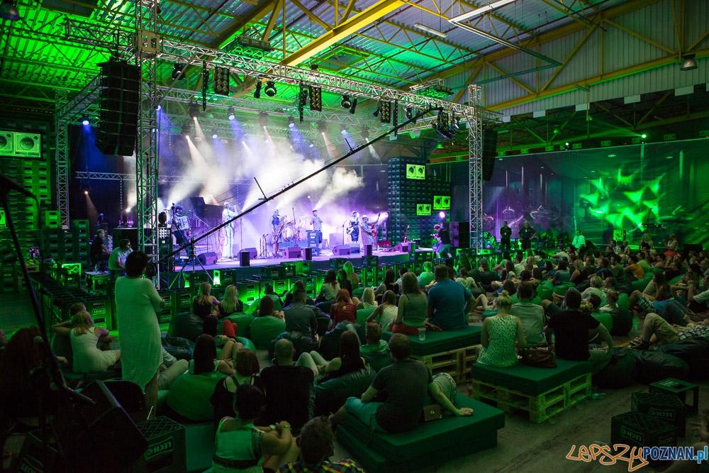 Koncert w browarze Lecha  Foto: Maciej Nowaczyk
