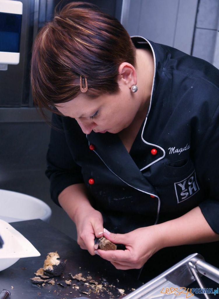 Magdalena Ossowska, kucharz z restauracji YoSH w Stuttgarcie z gwiazdką Michelin  Foto: Zagroda Bamberska