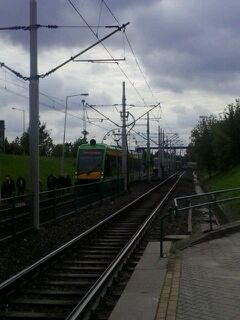 Tramwaje stały na PST  Foto: news@lepszypoznan.pl