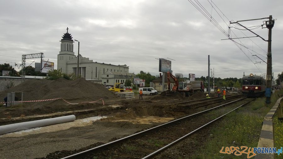 Zamknięty przejazd kolejowy na Dębcu (10)  Foto: TD