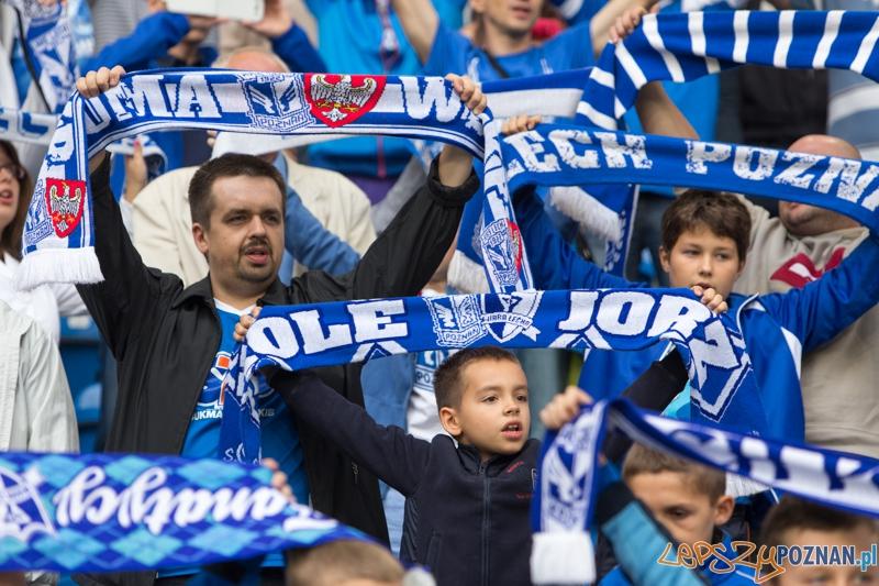 6. kolejka T-Mobile Extraklasy - Lech Poznań - Zawisza Bydgoszcz - kibice na meczu  Foto: lepszyPOZNAN.pl / Piotr Rychter