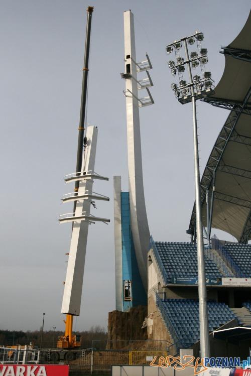 Jupitery na stadionie Lecha Poznań  Foto: lechpoznan.pl