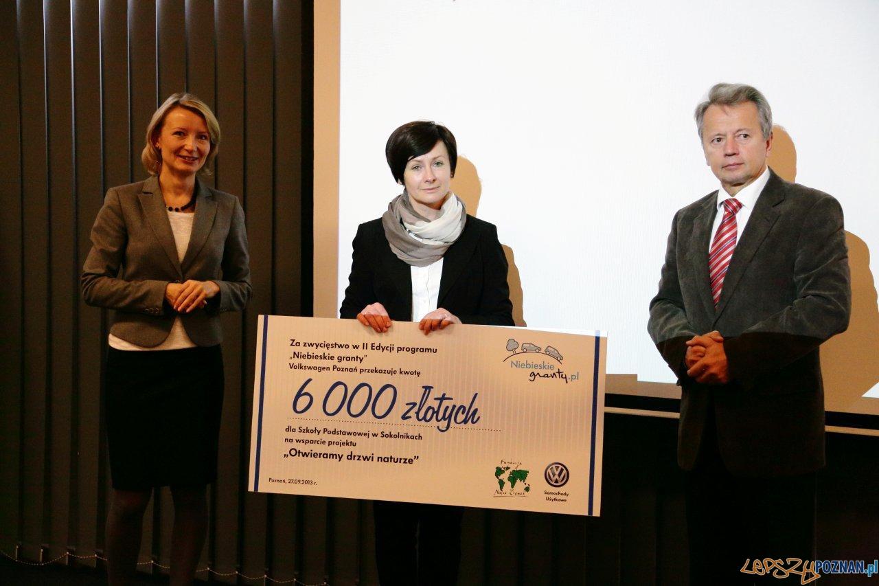 """Nagroda dla Szkoły Podstawowej w Sokolnikach - projekt """"Otwieramy drzwi naturze""""  Foto:"""