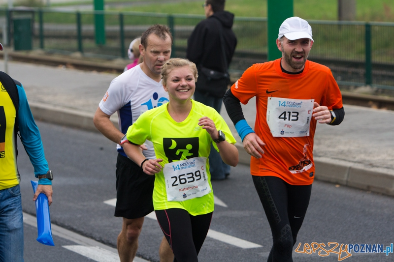 14. Poznań Marathon - 13.10.2013 r.  Foto: lepszyPOZNAN.pl / Piotr Rychter