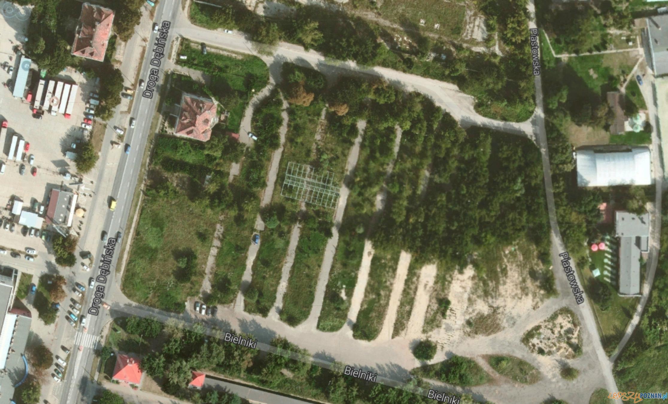Lokalizacja osiedla Riverpark  Foto: Google Maps