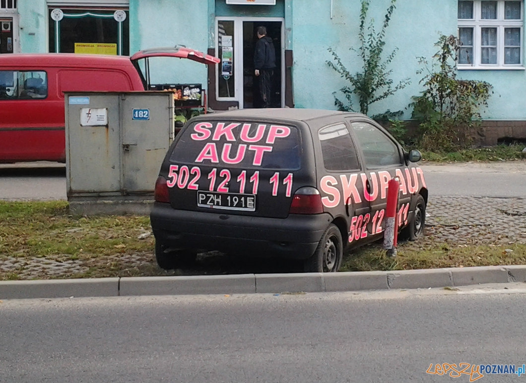 Reklamowe wraki  Foto: lepszyPOZNAN.pl / tab 10.1