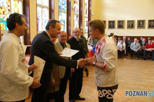 Wręczanie certyfikatów  Foto: UMP
