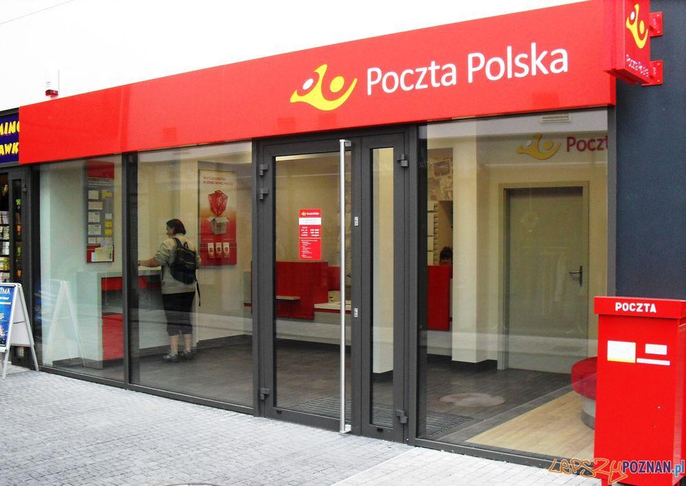 Placowka pocztowa przy ul. Chojnickiej  Foto: