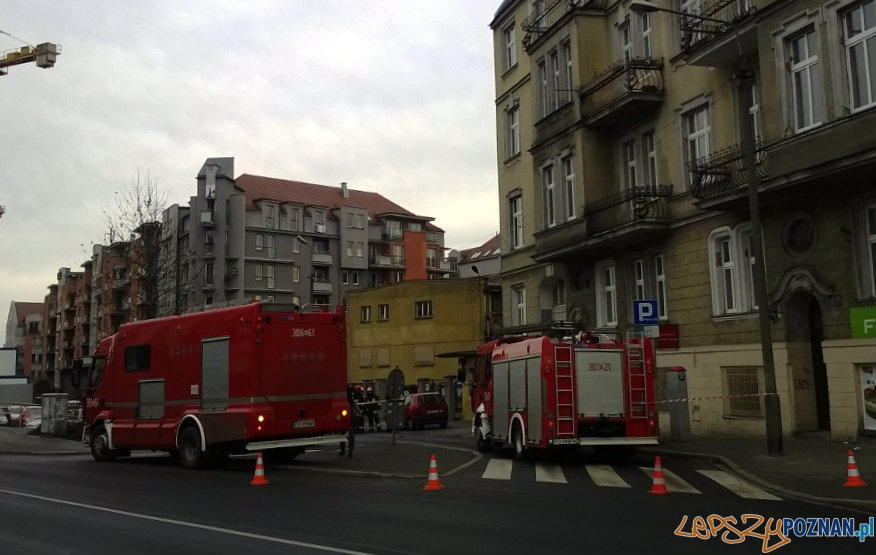 Eksplozja na Piaskowej  Foto: lepszyPOZNAN.pl / gsm