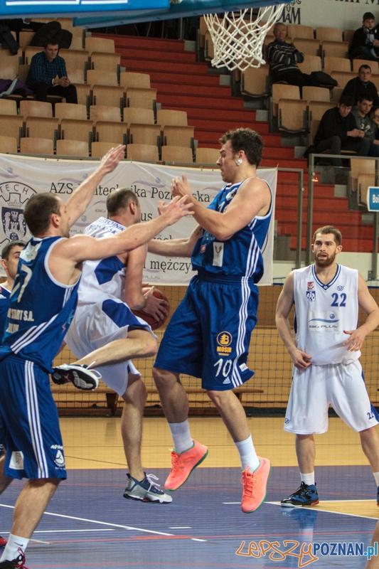 AZS Politechnika Big Plus Poznań – MKS Wikana Start S.A. Lublin 75:87 - Poznań 08.02.2014 r.  Foto: LepszyPOZNAN.pl / Paweł Rychter
