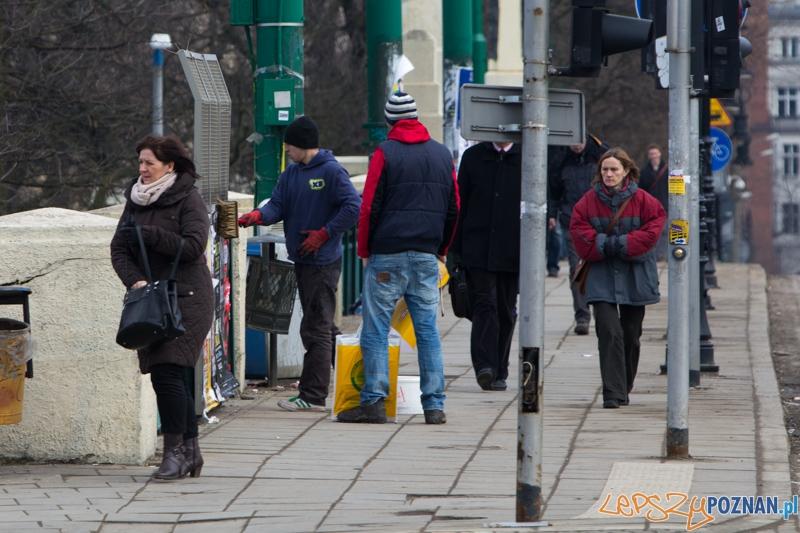 plakaciarze  Foto: lepszyPOZNAN.pl / Piotr Rychter