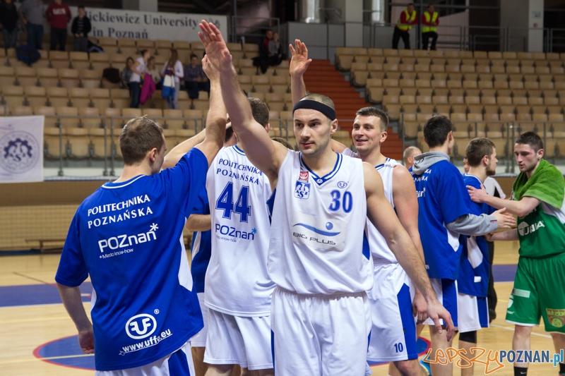 AZS Politechnika Poznań - Znicz Basket Pruszków  Foto: lepszyPOZNAN.pl / Piotr Rychter