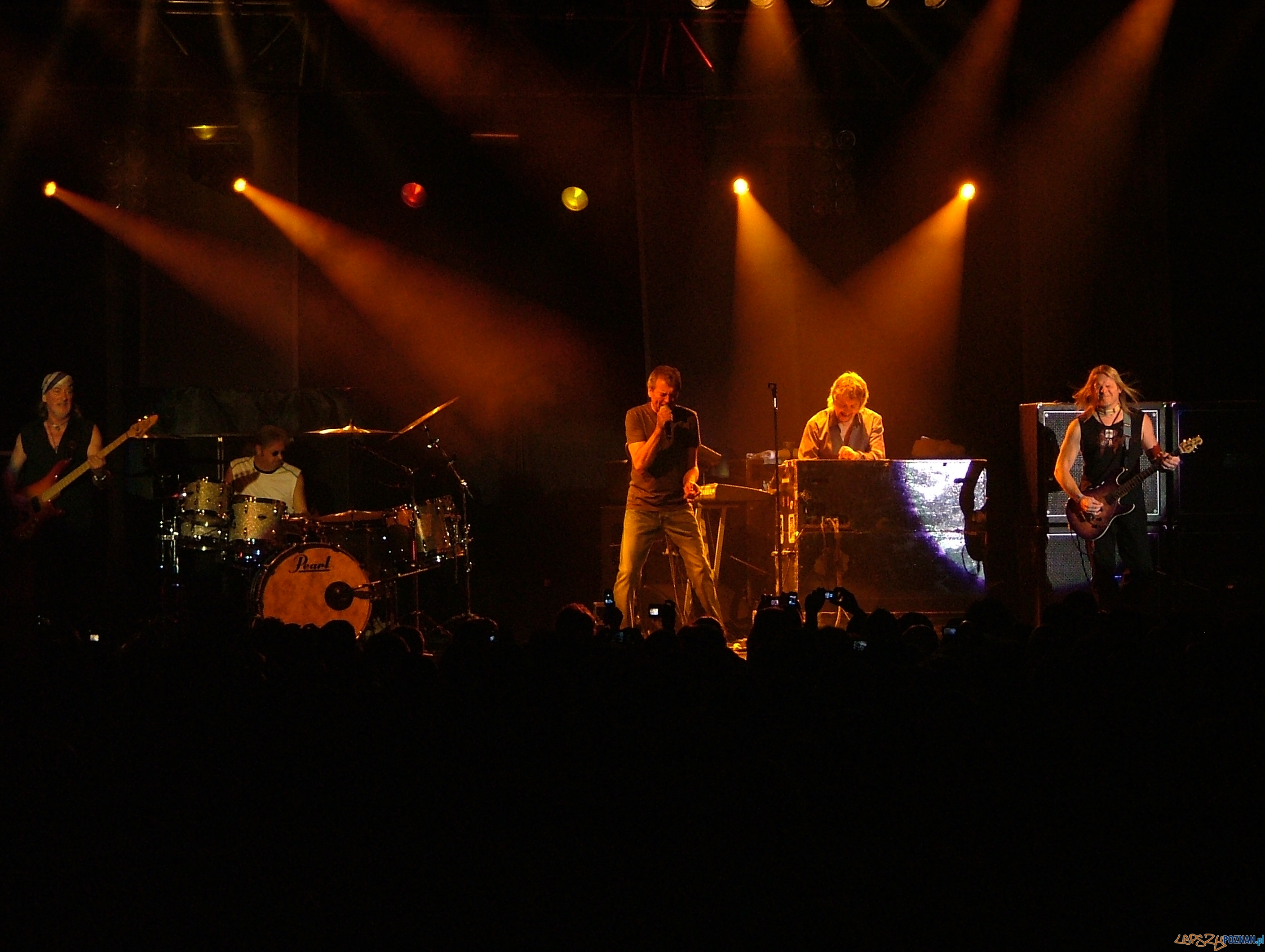Deep Purple live at Hangar 11, Tel Aviv on 09.09.2008  Foto: Wikipedia