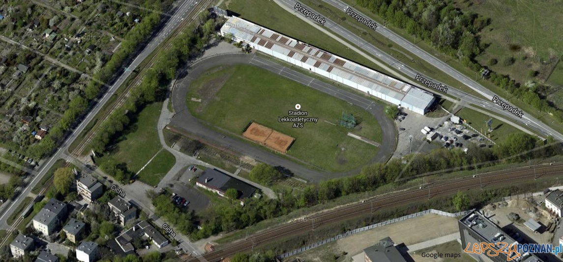 Stadion AZS  Foto: google