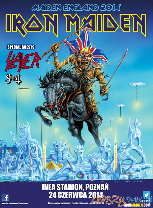 Iron Maiden Slayer Ghost  Foto: Iron Maiden Slayer Ghost