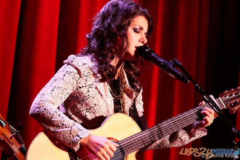 Katie Melua w Poznaniu (14.11.2012) foto: LepszyPOZNAŃ.pl /  Foto: © Karolina Kiraga