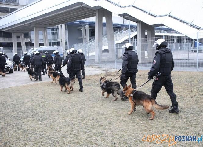 Policyjne manewry na Stadionie 4  Foto: materiały policji