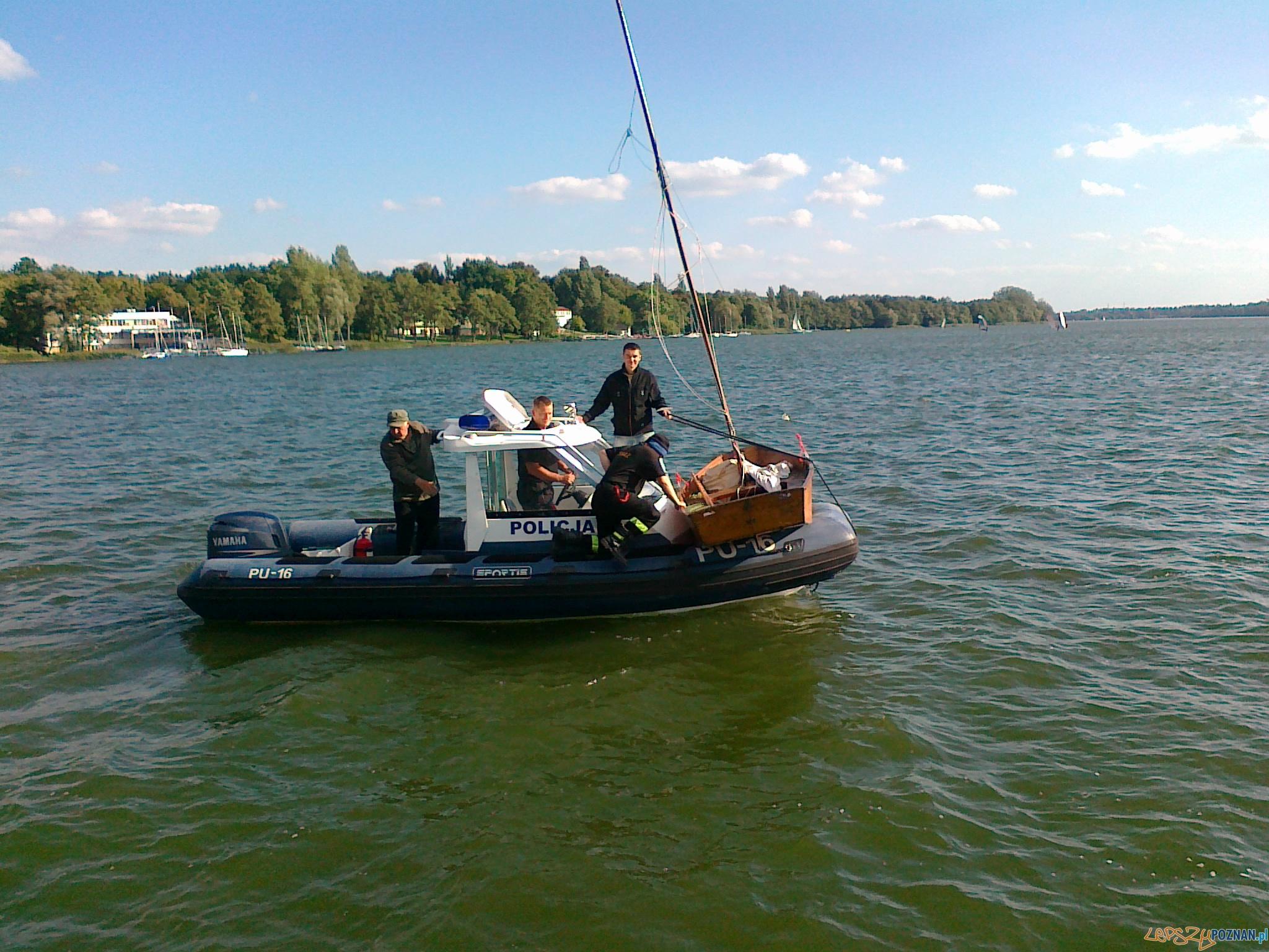 Policja Wodna na Jeziorze Kierskim  Foto: materiały policji