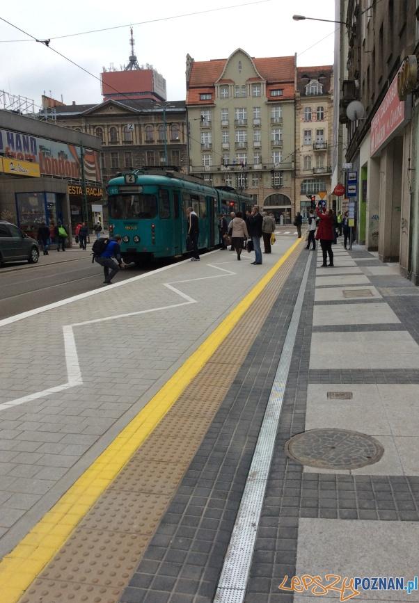 Nowa platforma na Gwarnej  Foto: ZDM