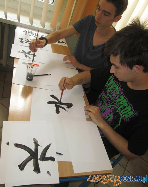 Uczniowie na olimpiadzie jezykowej  Foto: Nishio