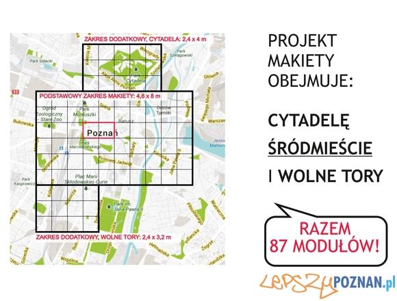 Makieta wspolczesnego Poznania  Foto: Polak Potrafi
