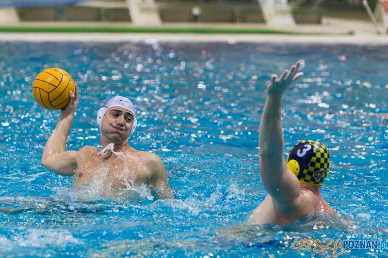 DSW Waterpolo Poznań - ŁSTW Uniwersytet Łódzki (Oskar Szymonik, Jakub Bednarek)  Foto: lepszyPOZNAN.pl / Piotr Rychter