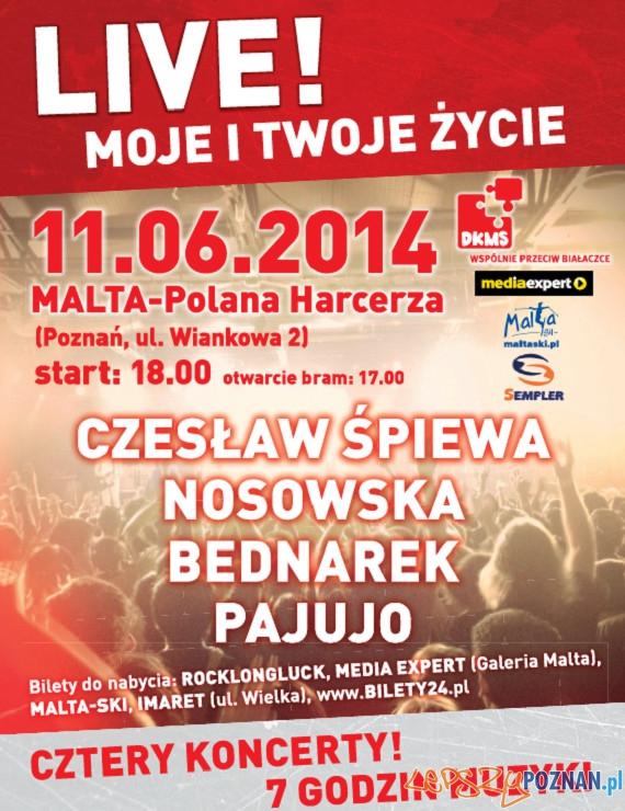 Plakat odwołanego koncertu  Foto: