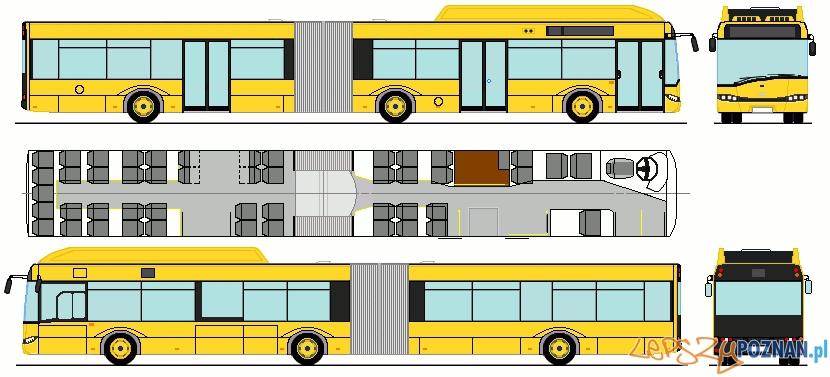 Solaris 18-hybrid w barwach przewoźnika z Drezna  Foto: solaris-club.com