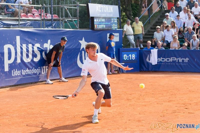 Poznan Open 2014 - Martin Alund vs. David Goffin  Foto: lepszyPOZNAN.pl / Piotr Rychter