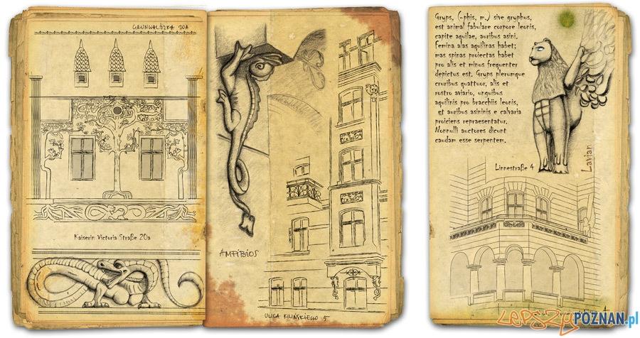 Ilustracje z ksiązki Ars Dragonia  Foto: egmont