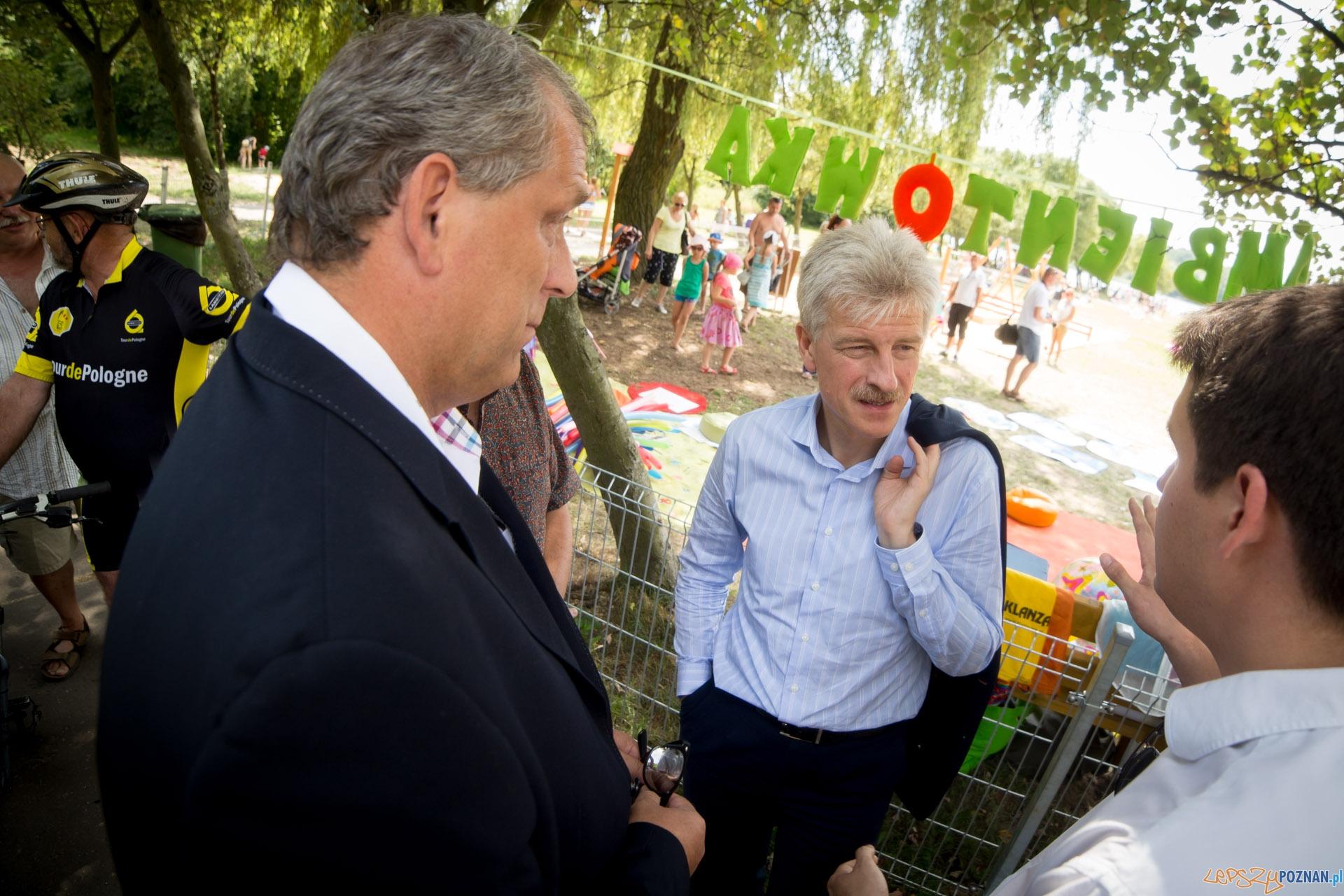 Prezydent Grobelny z gospodarską wizytą   Foto:  Piotr Bedliński